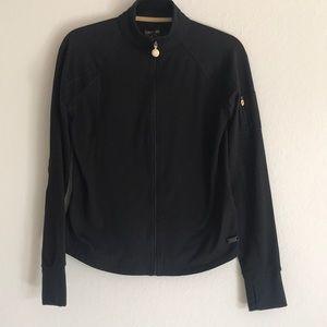 Black Calvin Klein Quick Dry Performance Jacket